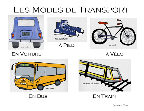 Transportation in French