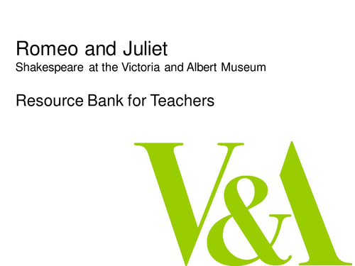 Shakespeare's Romeo and Juliet Image Bank