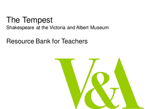 Shakespeare's The Tempest Image Bank