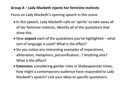 Macbeth is evil essay