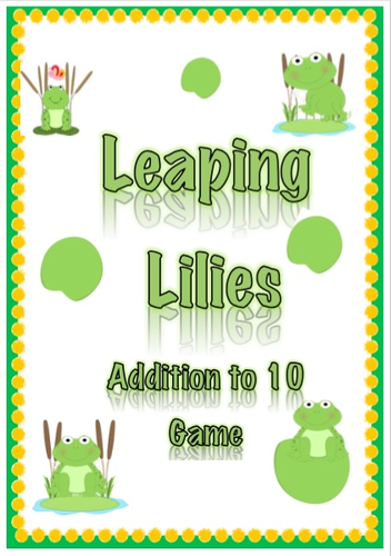 Leaping Lillies- Addition to 10 Game