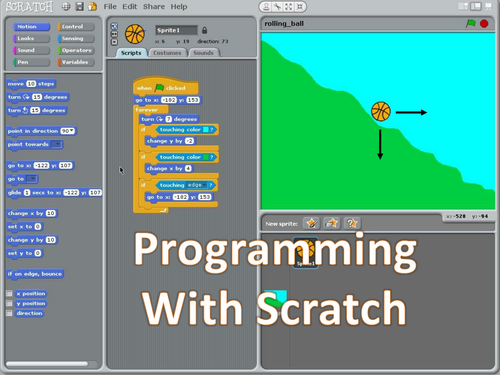 Scratch – Introduction to Computing using the IF Statement (KS3, programming, coding, scripts, fun)