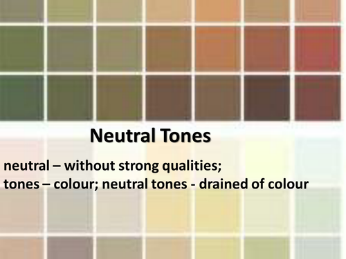 neutral tone colors design decoration