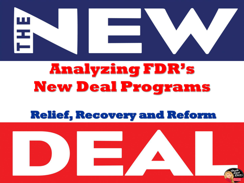 Analyzing FDR's New Deal Programs (The Great Depression)