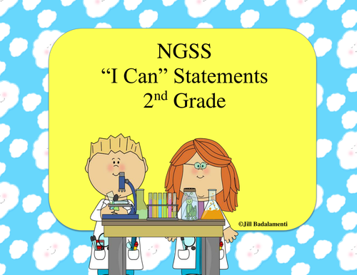 I Can Statements for 2nd Grade NGSS