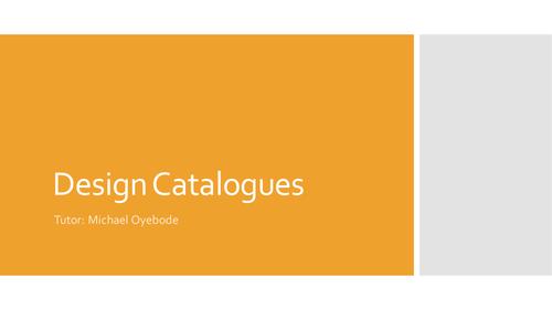 Design Catalogues