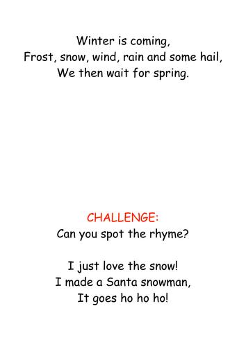 Winter Haikus Full Lesson By Megaalex66 Teaching Resources Tes
