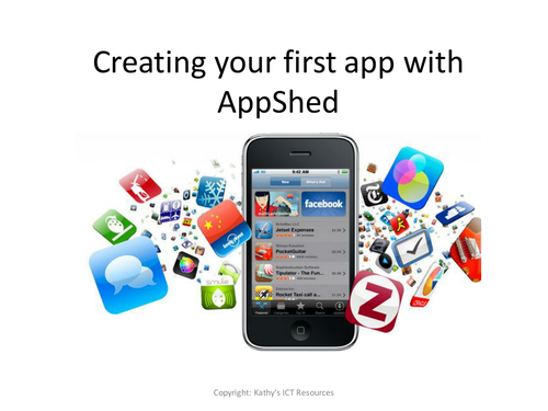 Create an app with AppShed (KS2 Primary) Computing lessons