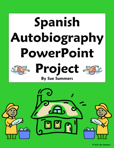 Spanish Autobiography PowerPoint Project