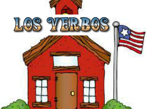 Posters: Spanis AR ER verbs