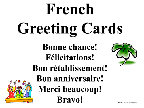 French greeting cards for all occasions by suesummersshop teaching french greeting cards for all occasions by suesummersshop teaching resources tes m4hsunfo