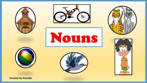 Nouns.  Common and Proper Nouns.