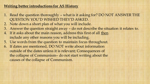 Cold war essay introduction