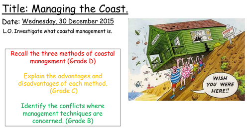 AQA A Coasts 'Managing the Coasts'