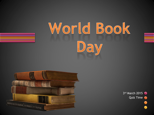 World Book Day Quiz 3rd March , 50 questions and a variety of rounds for a fun form time or lesson.