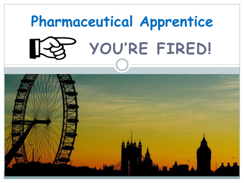 Pharmaceutical Apprentice Task