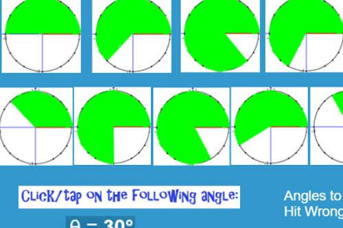 Unit Circle Special Angles -practice