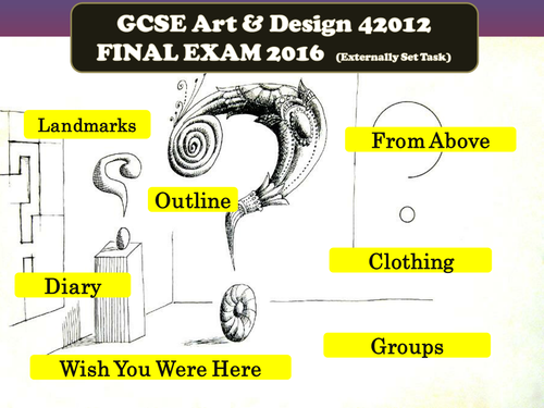 Question About GCSE Art .?