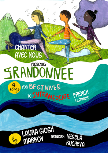 Workbook: 'La Randonnee' for 'Chantez avec nous' French songs CD