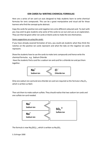 Aluminum Oxide  Ionic Formula For Aluminum Oxide Course Hero The following ionic compounds nomenclature worksheet  Write essays online  for money  Bonding Lessons Tes Teach