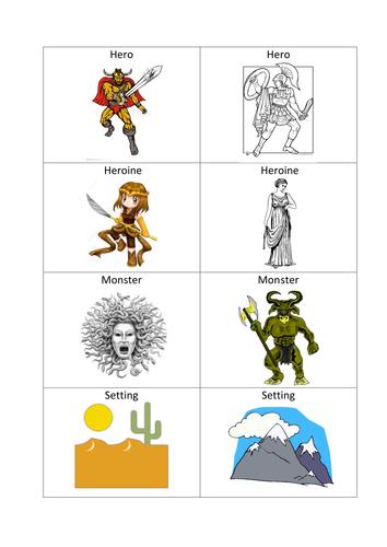 Myth Maker cards