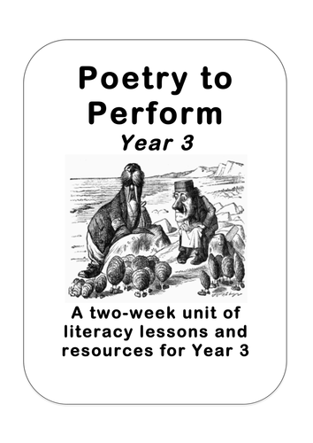 how to write a performance poem
