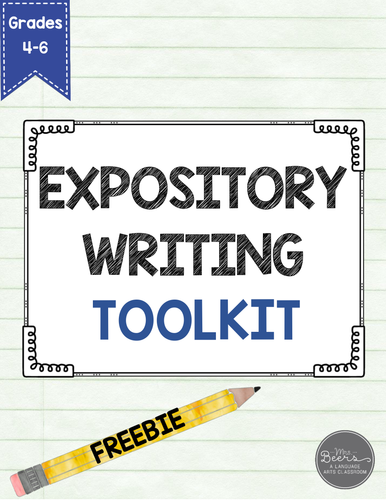 Expository Writing Lesson Plan Grades 4-6