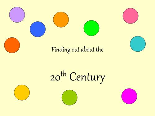 2oth century activities