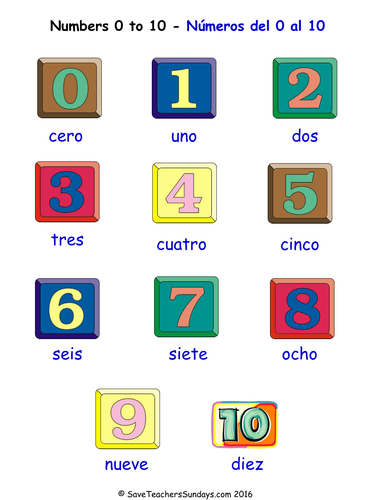 Numbers 0 10 in spanish worksheets games activities and flash numbers 0 10 in spanish worksheets games activities and flash cards by saveteacherssundays teaching resources tes ibookread