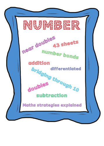 MATHS - NUMBER WORK  FOR 5-7 YEAR OLDS AND PARENTS