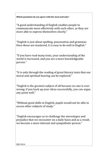 What English Means to Me
