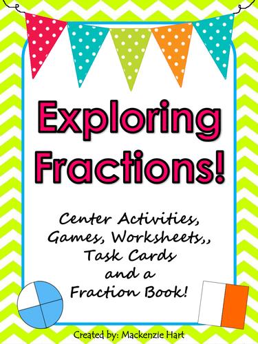 Exploring Fractions Activities