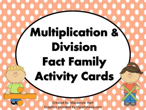 Fact Families Worksheets Ks2 Proga Info