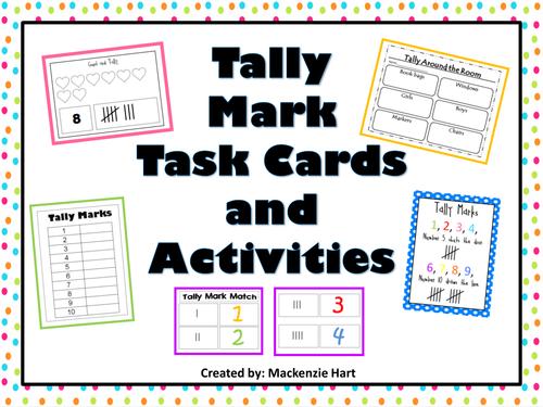 Tally Mark Activities