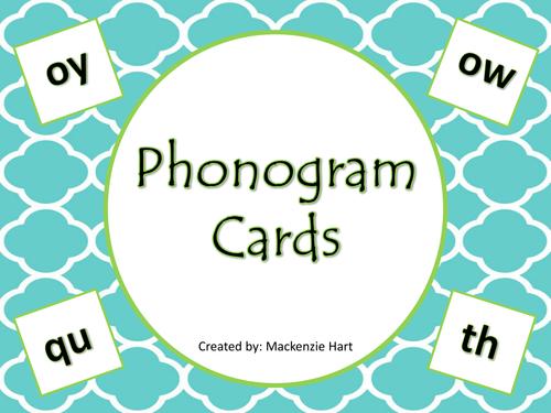 Phonogram Cards