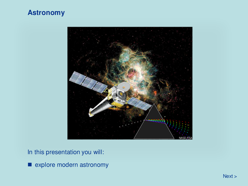 Space - Astronomy