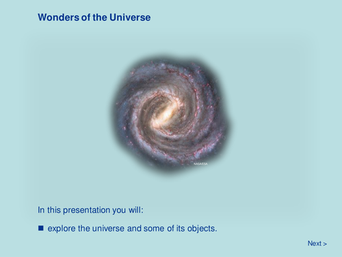 Space - Wonders of the Universe