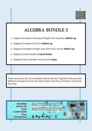 Algebra Bundle 2