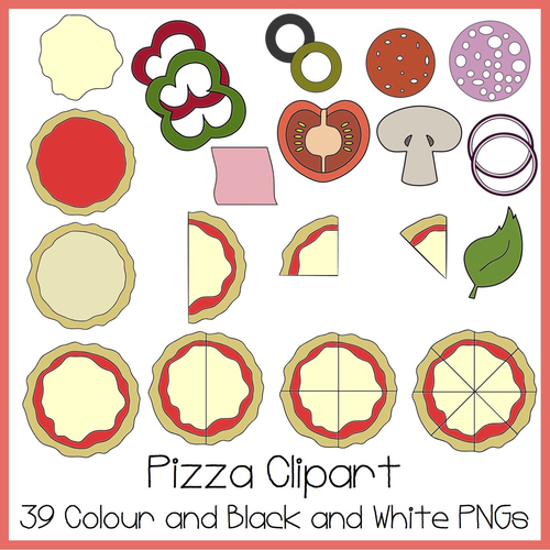 This is an image of Critical Printable Pizza Toppings