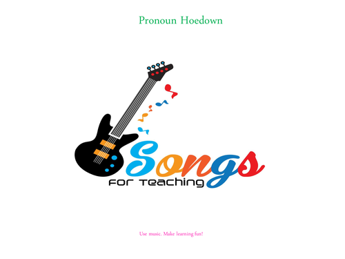 KS2 English - Grammar - Pronoun Hoedown