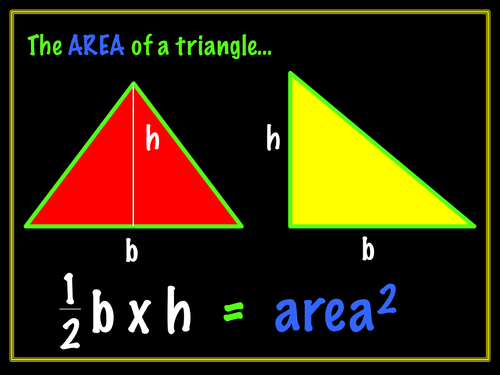 Area and Perimeter squared and cubed