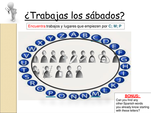 KS4 SPANISH TRANSLATION LESSON TOPIC JOBS