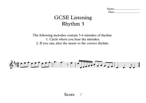 13 Engaging Melody, Picth and Rhythm Exercises