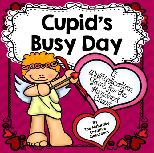 Cupid's Busy Day:  A Multiplication Game for the Hundred Chart