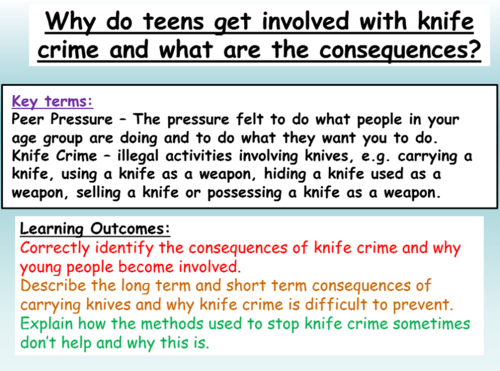 Civil and Criminal Law KS34 1hrPP and 3 worksheets by – Criminal Thinking Worksheets