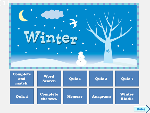 winter quiz by evaszucs teaching resources tes. Black Bedroom Furniture Sets. Home Design Ideas