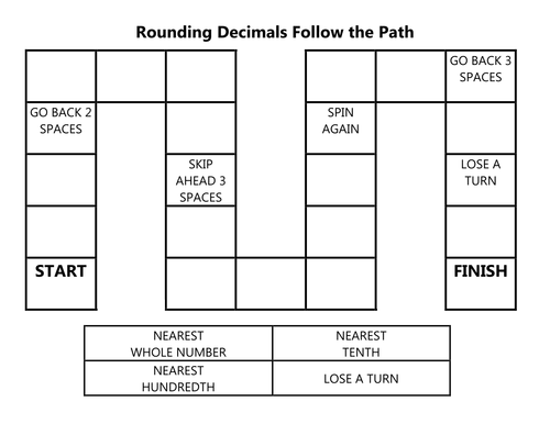 Follow the Path: Rounding Decimals
