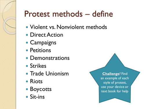 The Power of Protest and the Civil Rights Movement