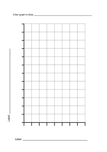 simple bar graph template by sbt2 teaching resources tes