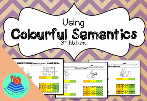 Colourful Semantics 3rd Edition